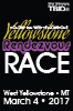 38th annual Yellowstone Rendezvous Race on  March 4th, 2017 in West Yellowstone, Montana
