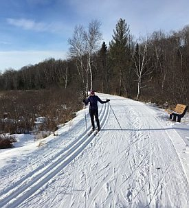 Learn to cross country ski wisconsin trails